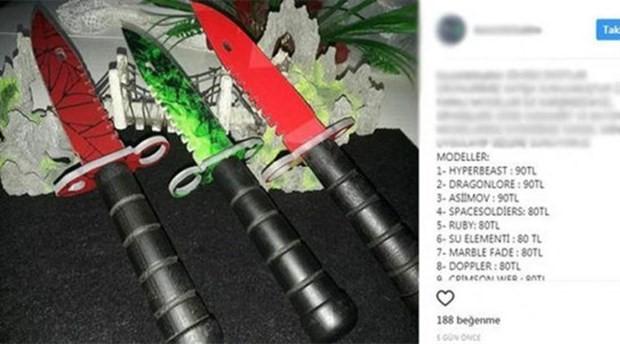 Instagram üzerinden bıçak alışverişi: Hedef kitlesi çocuklar!