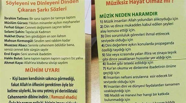 """İTÜ öğrencilerinden """"Müzik haramdır"""" bildirisine türkülü yanıt"""