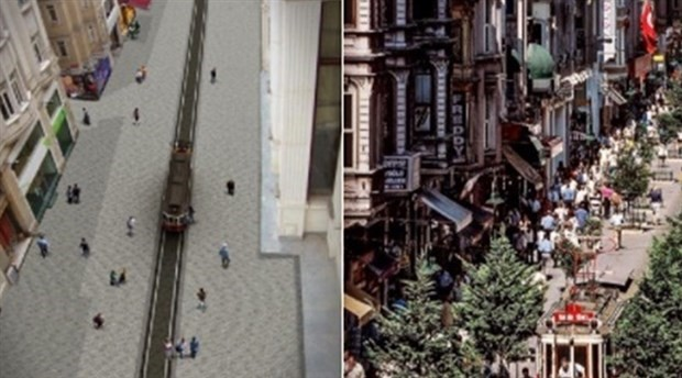 Taksim tramvayının açılış tarihi belli oldu