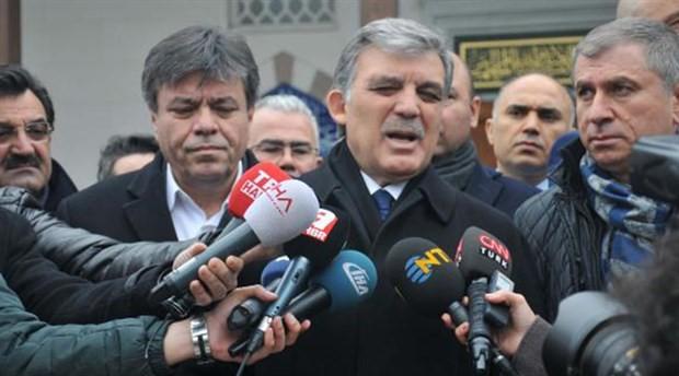 Abdullah Gül: Polemiğe girmek bana yakışmaz