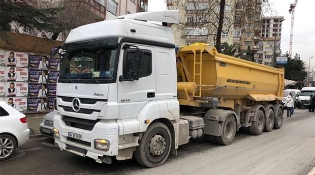 Hafriyat kamyonu bir can daha aldı!