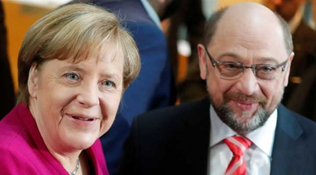 Merkel ve Schulz uzlaşmaya vardı