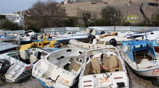 Milyonluk tekneler çürümeye bırakıldı