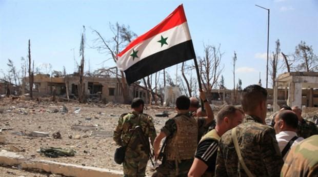 Suriye ordusu Halep kırsalında 15 köyü cihatçılardan kurtardı