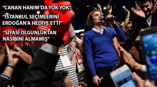 Canan Kaftancıoğlu, Hürriyet yazarlarının hedefinde