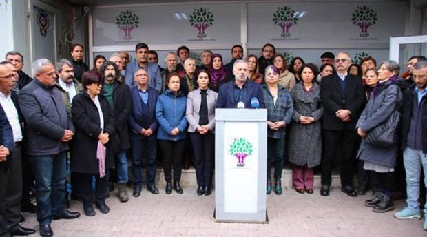 HDP Sözcüsü Bilgen: Ortak yaşam iradesi bombalanmakta; muhalefet göz yummamalı