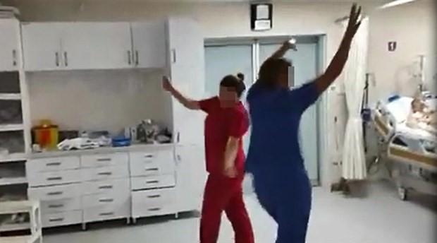 Yoğun bakımda dans eden sağlık çalışanlarına idari soruşturma