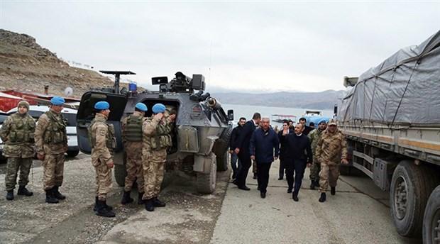 """""""Türk askerlerinin Instagram paylaşımları rotayı takip etme imkanı sunuyor"""""""