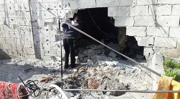 Sığınma kampına roketli saldırı düzenlendi
