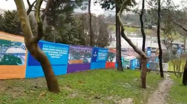 Maçka Parkında ağaçlar sökülüyor!