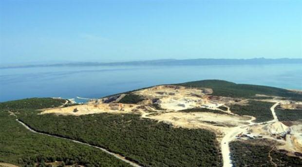 Saros Körfezini katleden kalker ve taş ocakları için 'ÇED gerekli değildir' kararına iptal!