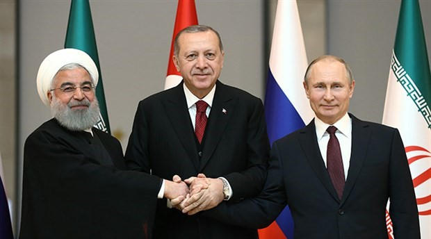 Putin, Erdogan and Rouhani hold joint press conference in Ankara