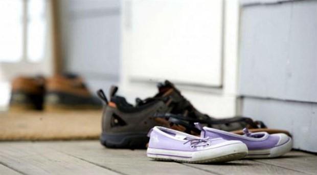 Evde ayakkabı giyenlere ciddi uyarılar