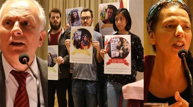 Gözaltına alınan ve tutuklanan Boğaziçili öğrencilerin ailelerinden basın açıklaması