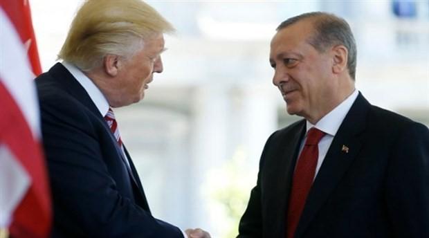 Erdoğan ile Trump, telefonda görüştü