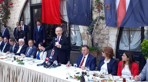 Kılıçdaroğlu: Egemen güçler bölgeden elini çekmeli