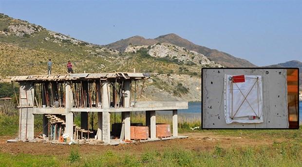 İmara kapalı yerde inşaat