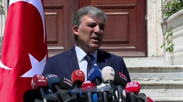 Abdullah Gül: Geniş mutabakat oluşmadı, aday değilim
