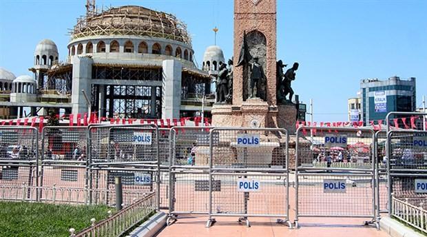 Taksim Meydanı '1 Mayıs' ablukasında