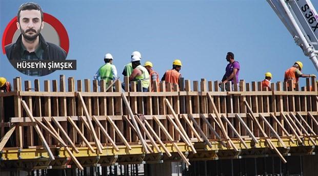 Her gün inşaatlarda bir işçi can veriyor