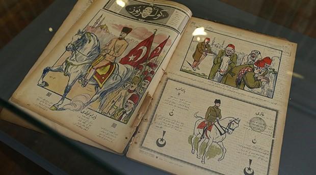 Atatürk karikatürleri ilk kez sergilendi
