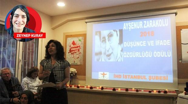 Ayşenur Zarakolu ödülleri sahiplerini buldu