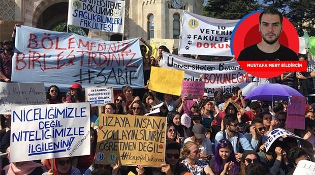 Tepkiler görmezden gelindi: Üniversiteler resmen bölündü