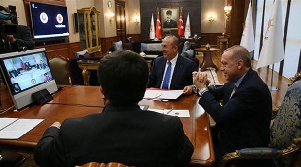 Erdoğan, Maduro ile telekonferans yoluyla anlaşma imzaladı