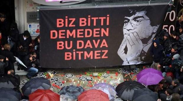 Hrant Dink davasında bir sanığa tahliye
