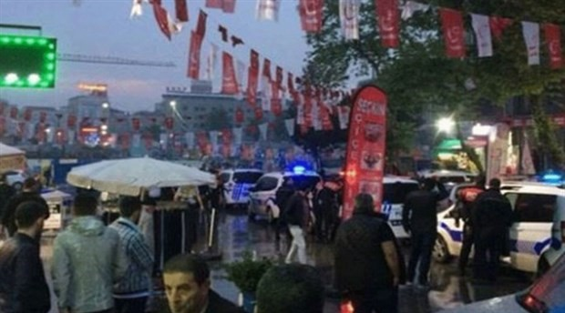 İYİ Parti standına saldırıp 8 kişiyi yaralamaktan tutuklu 2 kişi serbest bırakıldı