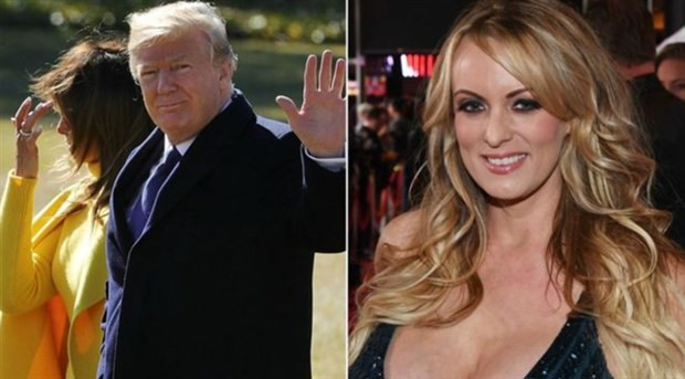 Trump porno yıldızına para ödediğini resmen kabul etti