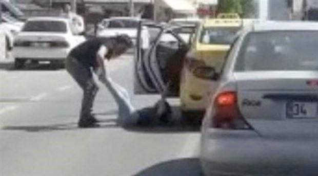 Müşterisini taksiden aşağı atan taksici tutuklandı
