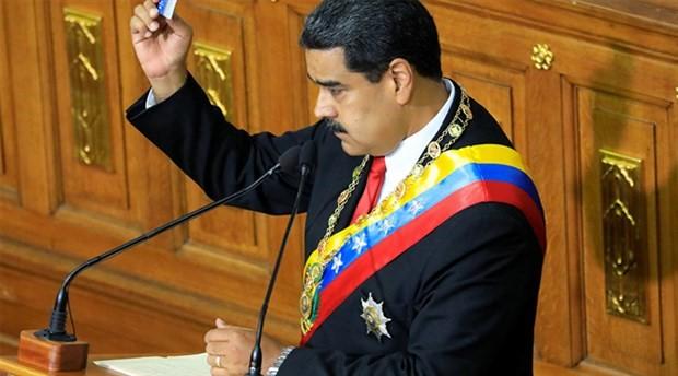 Maduro, ikinci dönem devlet başkanlığı için yemin etti