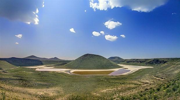 Meke Gölü kurudu