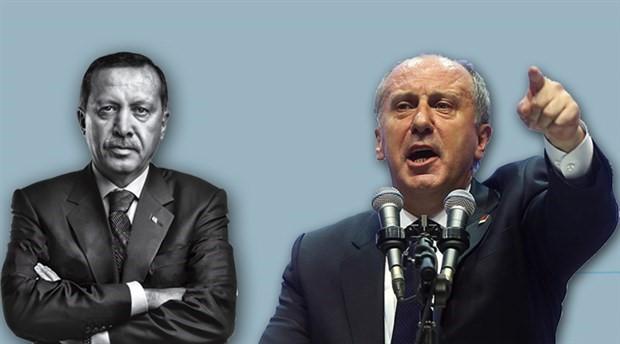 Erdoğan, Muharrem İnce hakkında suç duyurusunda bulundu