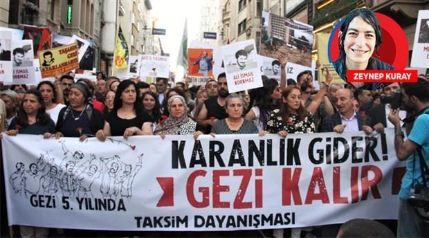 Gezi 5 yaşında: Karanlık gider Gezi kalır