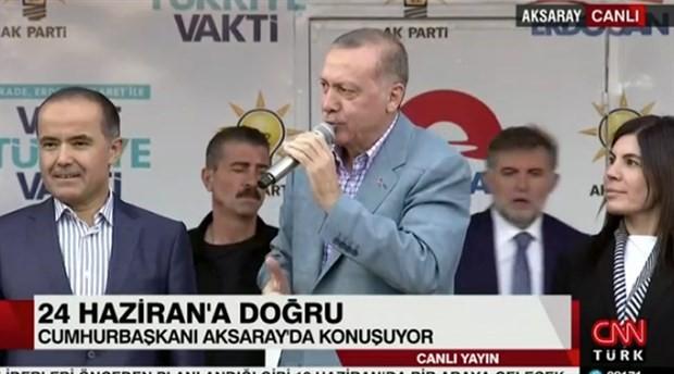 Erdoğan: İmam hatibe gitseymiş o da cumhurbaşkanı olurmuş