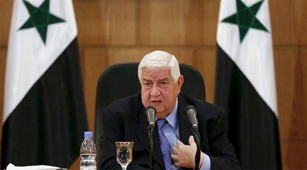 Suriye Dışişleri Bakanı Muallim: SDG ile temas kurduk