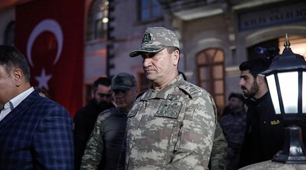 Partili ordu komutanı!