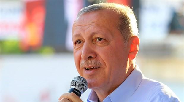 Erdoğan: Kek var, çay var