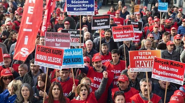 Genel-İş: Emeğin haklarını istiyoruz!