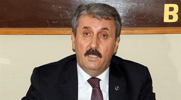 BBP lideri Destici: HDP barajı aşmamalı; aşarsa 350 vekil çıkarırız