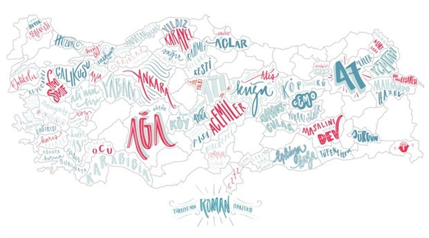 Turkiye Roman Haritasi Cizildi