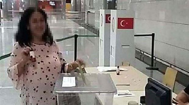 Mükerrer oy kullanan kadının ifadesi ortaya çıktı