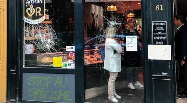 Fransız kasaplar, hükümete mektup yazarak, 'militan veganlara' karşı koruma istedi