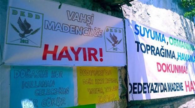 Madenciler 'Bu köyü başınıza yıkarız' dedi, halk direnişe geçti