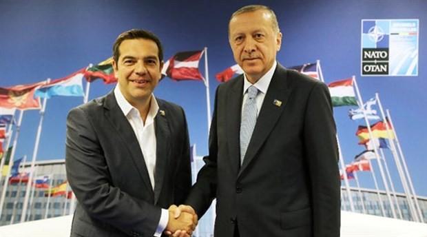 Erdoğan ile Çipras görüştü