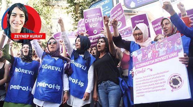 Flormar işçilerine kadın dayanışması: Birlikte güçlüyüz!
