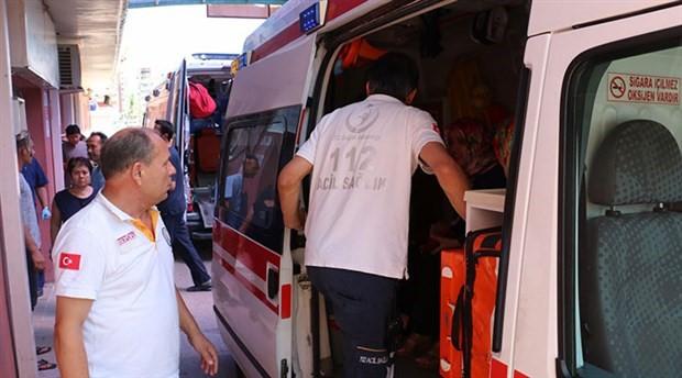 104 işçi gıda zehirlenmesi şüphesiyle hastaneye kaldırıldı