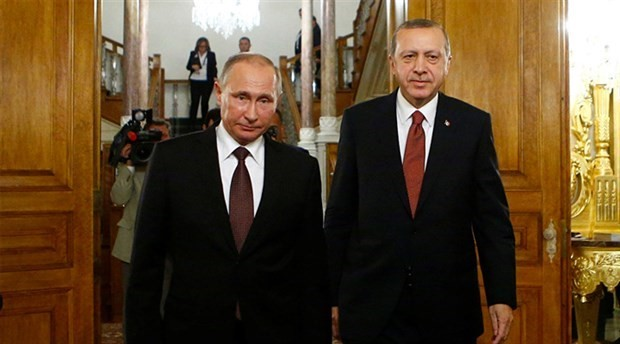 Erdoğan ile Putin görüşmesi başladı